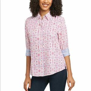 Foxcroft printed blouse